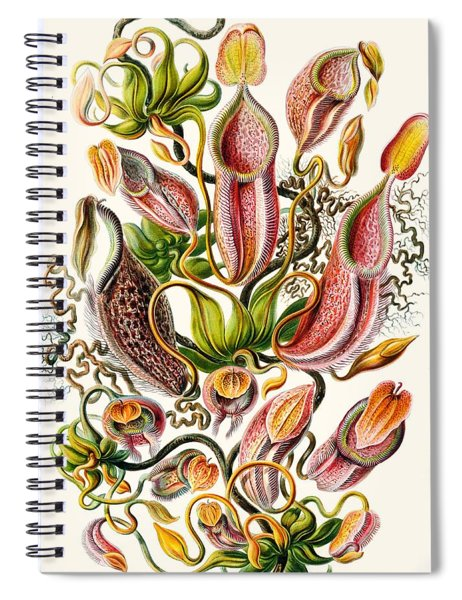 A Collection Of Nepenthaceae Spiral Notebook