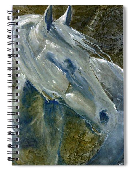 A Cool Morning Breeze Spiral Notebook