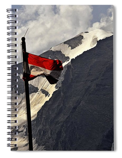 A Cool Summerbreeze - Austria Spiral Notebook
