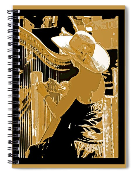 A Coos Bay Lady Musician Spiral Notebook