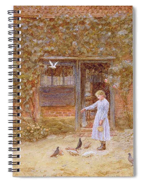 A Cottage At Shere Spiral Notebook