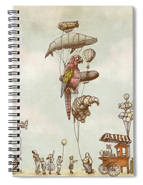 A Day At The Fair Spiral Notebook