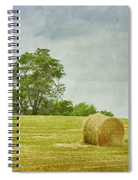 A Day At The Farm Spiral Notebook