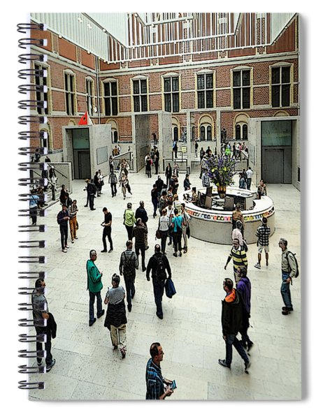 A Day At The Museum Spiral Notebook