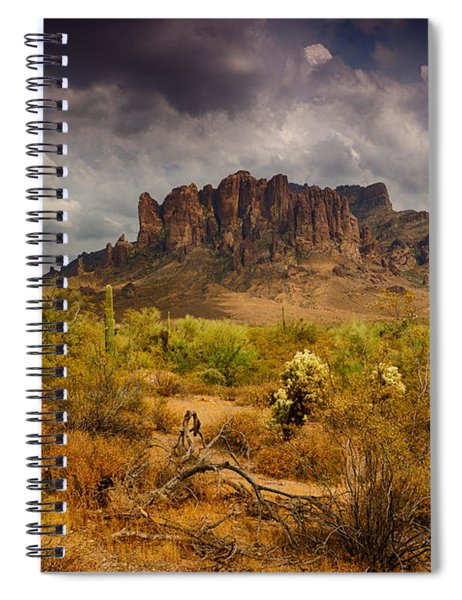 A Day At The Superstitions  Spiral Notebook