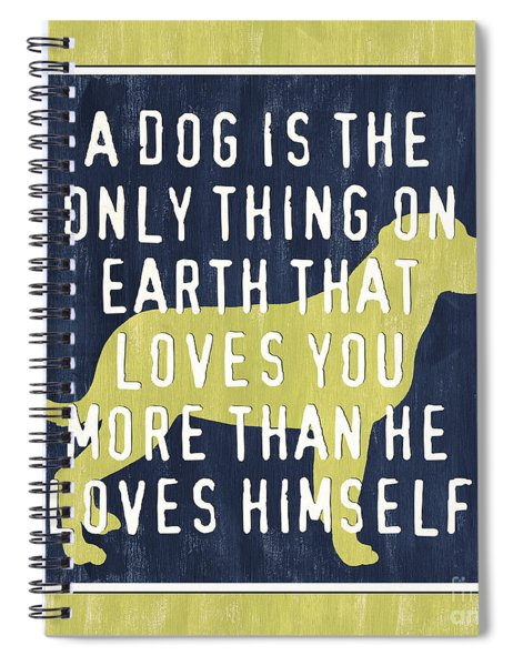 A Dog... Spiral Notebook