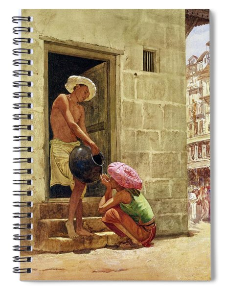 A Drink On The Way, 1876 Spiral Notebook