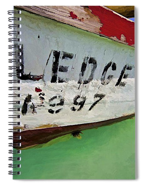A Fishing Boat Named Sledge Spiral Notebook