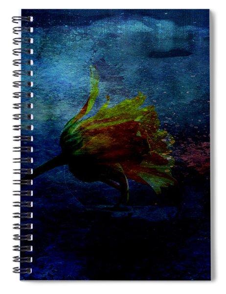 A Floral Dream Spiral Notebook