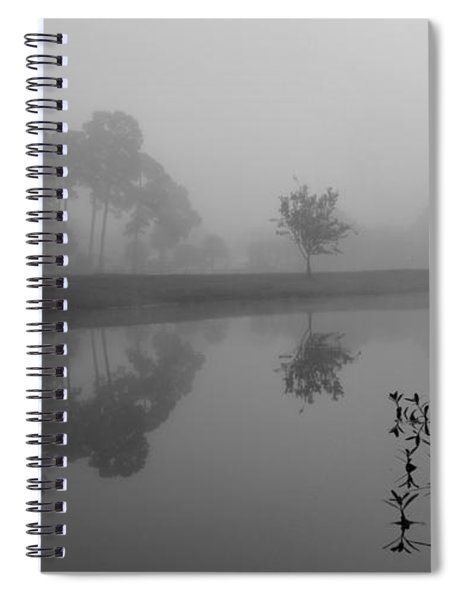 A Foggy Morning Spiral Notebook
