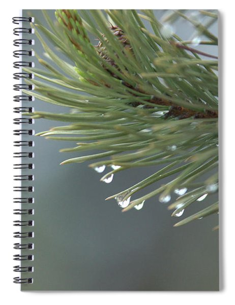 A Foggy Morning  Spiral Notebook
