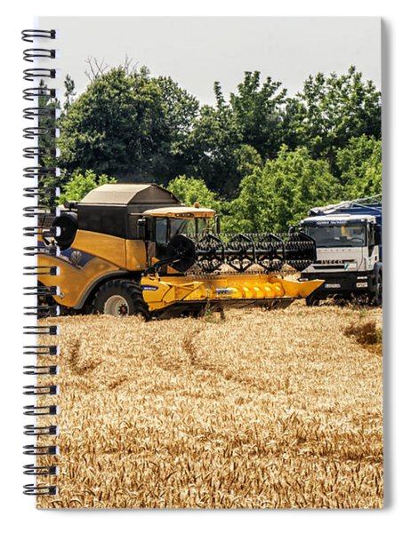 A French Harvest Spiral Notebook