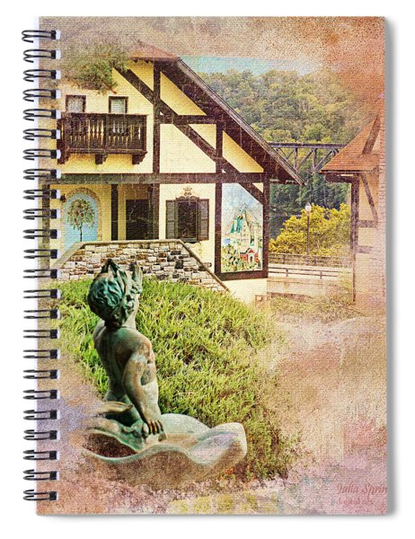 A Glimpse Of Bavaria In West Virginia Spiral Notebook