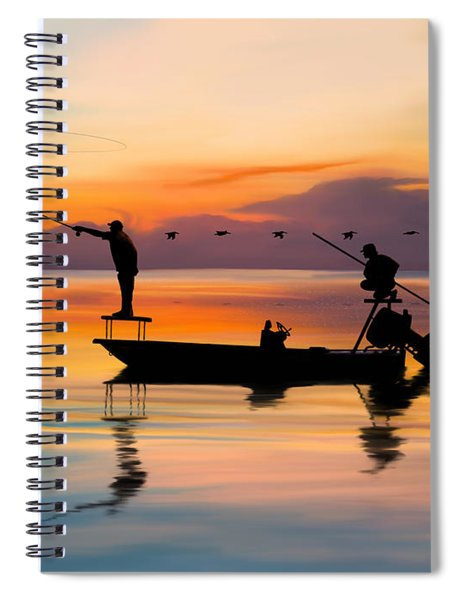 A Glorious Day Spiral Notebook