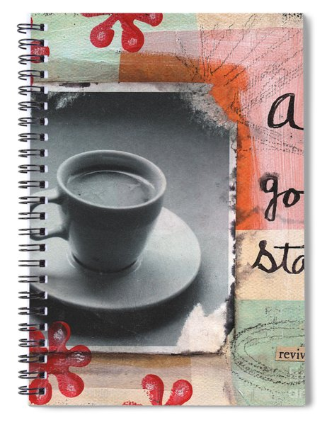 A Good Start Spiral Notebook