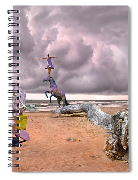 A Grain Of Sand Spiral Notebook