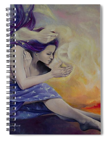 A Heaven For Two Spiral Notebook