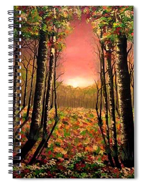 A Kiss Of Life Spiral Notebook