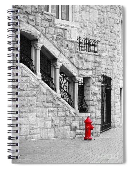 A Little Red Spiral Notebook