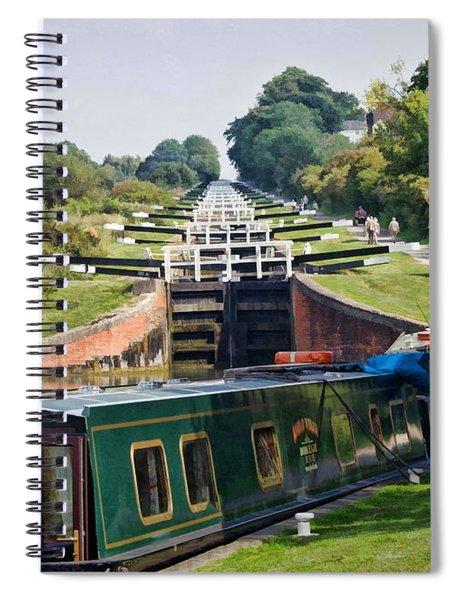 A Long Climb Spiral Notebook by Paul Gulliver
