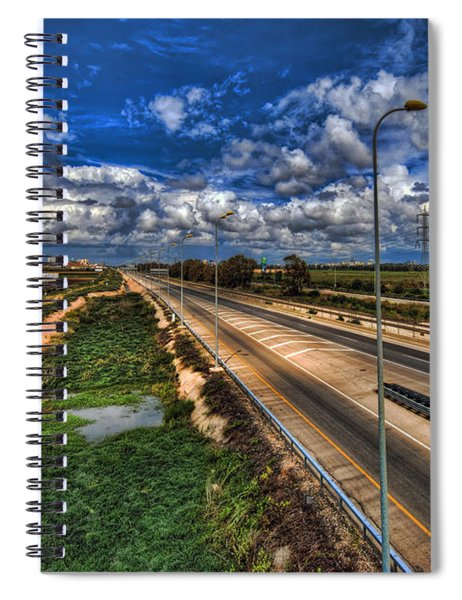 a majestic springtime in Israel Spiral Notebook