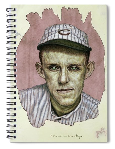 A Man Who Used To Be A Player Spiral Notebook by James W Johnson