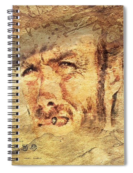 A Man With No Name Spiral Notebook