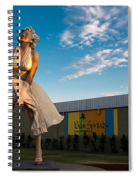A Marilyn Morning Spiral Notebook