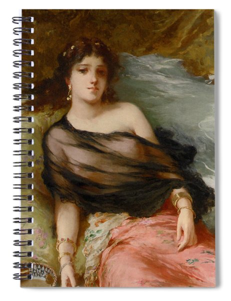 A Middle Eastern Beauty Spiral Notebook