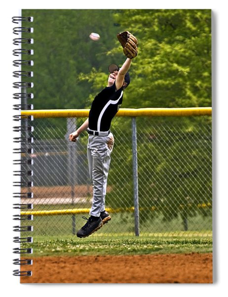A Mighty Leap Spiral Notebook
