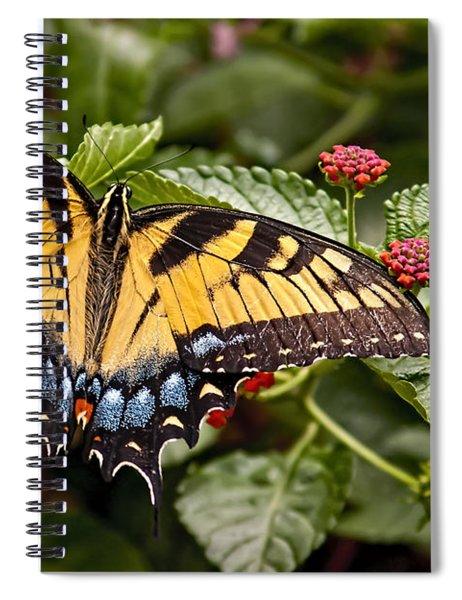 A Moments Rest Spiral Notebook