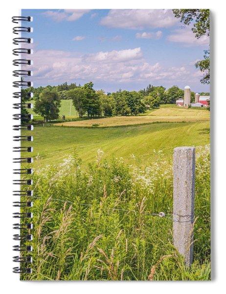 A Nation's Bread Basket  Spiral Notebook