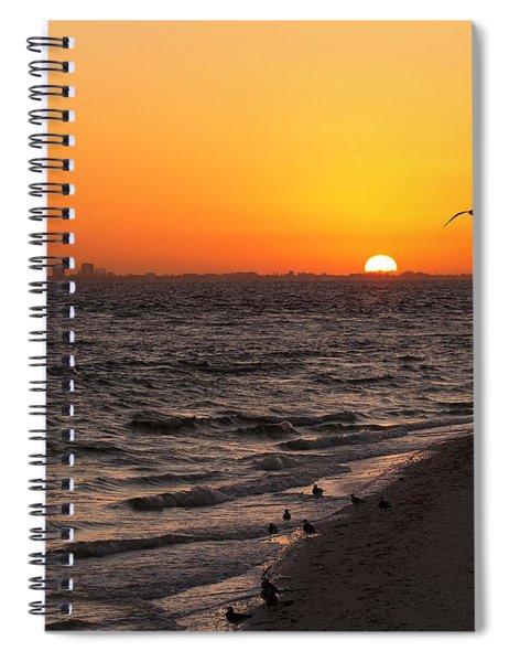 A New Day - Sanibel Island Spiral Notebook