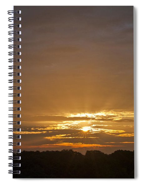 A New Day - Sunrise In Texas Spiral Notebook