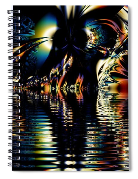A Night On The Water Spiral Notebook