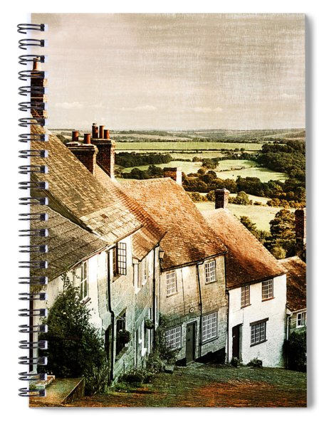 A Past Revisited Spiral Notebook
