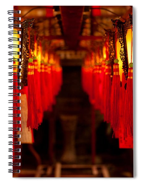 A Path Of Light And Prayers Spiral Notebook
