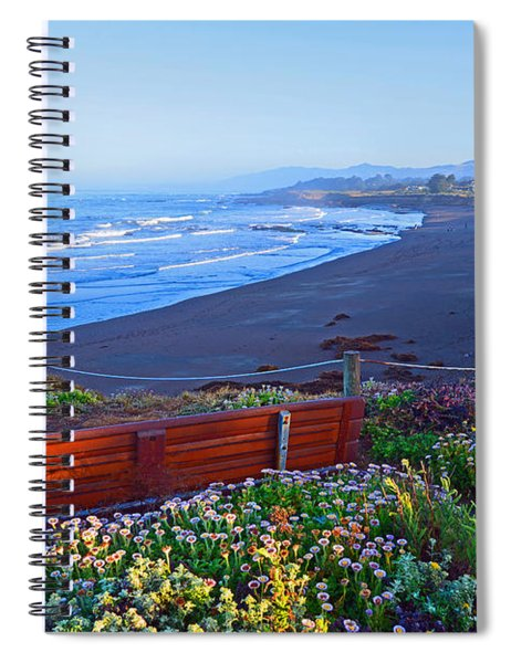 A Place To Reflect Spiral Notebook