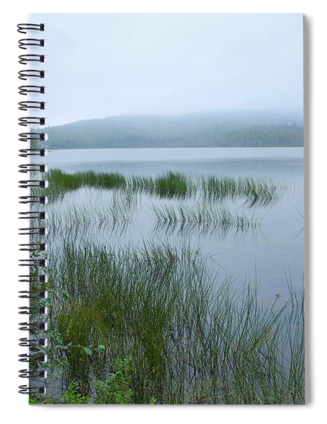 A Poetry Of Mist Spiral Notebook