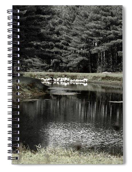 A Pond Spiral Notebook