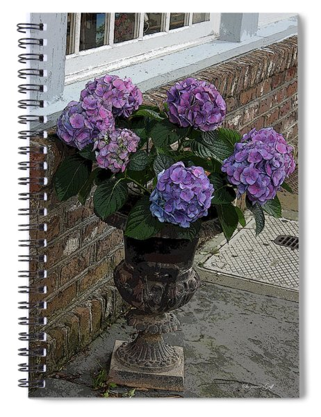A Pop Of Purple Spiral Notebook