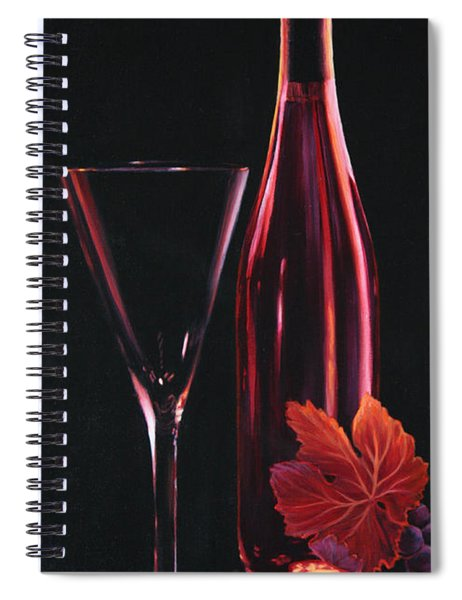 A Prelude To Romance Spiral Notebook by Sandi Whetzel
