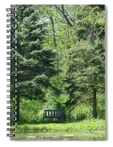 A Quiet Moment Spiral Notebook