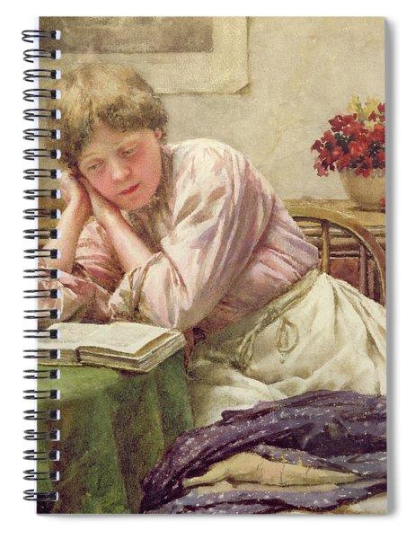 A Quiet Read Spiral Notebook
