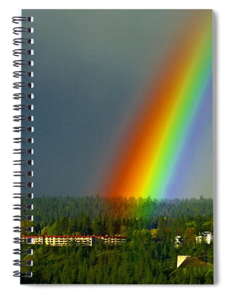 A Rainbow Blessing Spokane Spiral Notebook