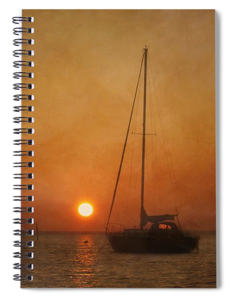 A Ship In The Night Spiral Notebook