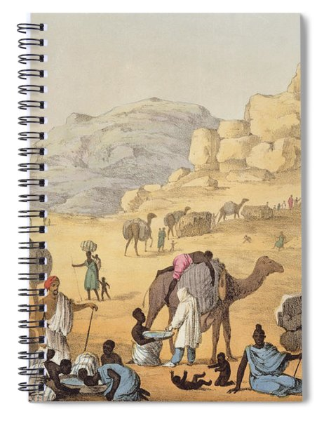 A Slave Kaffle, From Narrative Spiral Notebook
