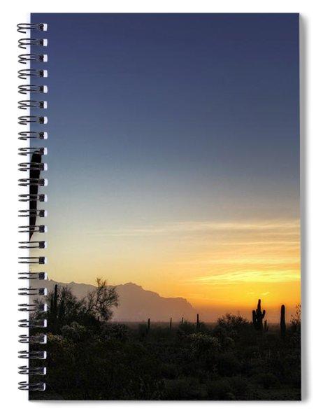 A Sonoran Sunrise  Spiral Notebook