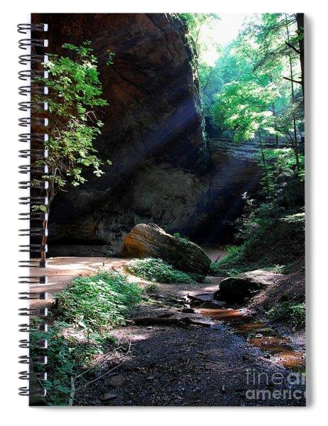A Special Light Spiral Notebook