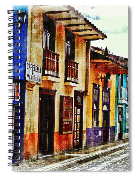 A Splash Of Color Spiral Notebook